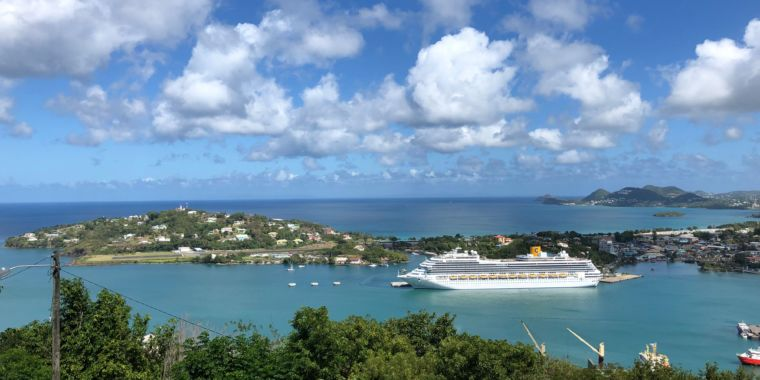 Measles-stricken cruise ship quarantined, reportedly owned by Scientologists