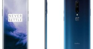 Here's the OnePlus 7 Pro in 'Nebula Blue' and 'Mirror Grey'