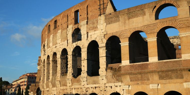 "Study says ancient Romans may have built ""invisibility cloaks"" into structures"