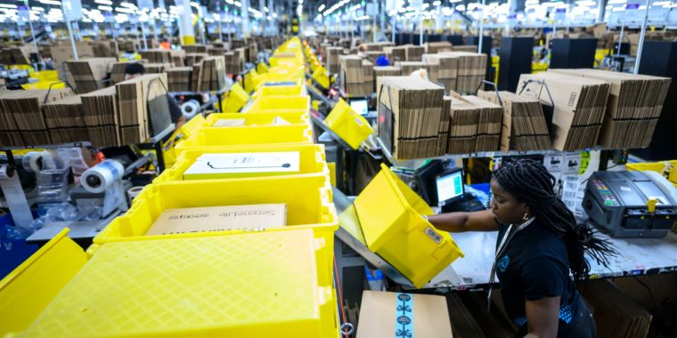 Amazon discriminates against pregnant women, seven lawsuits have said