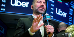 Uber suffers disappointing stock market debut