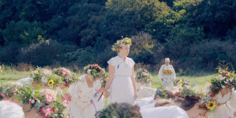 Spooky Midsommar trailer gives new horror rule: Don't trust Swedish hippies