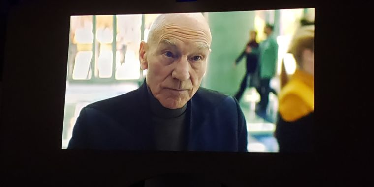 CBS shows the first new image of Patrick Stewart as Picard in 17 years