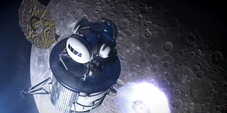 NASA chooses companies to design part of its Artemis lunar lander