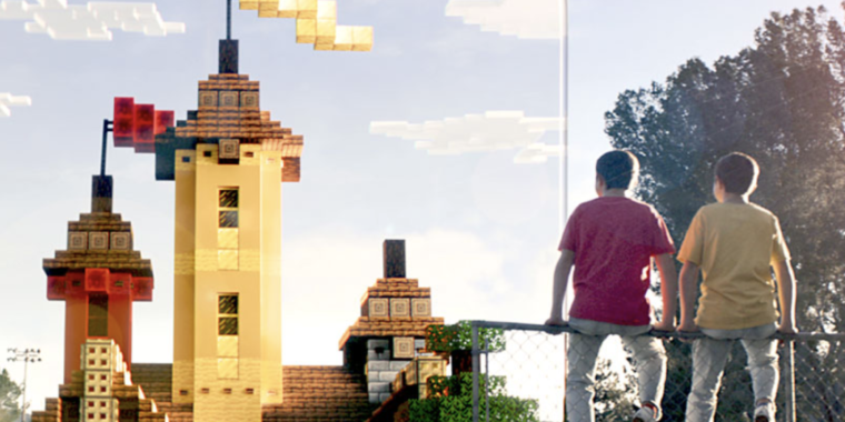 There's a new Minecraft game coming, and it's played entirely in augmented reality
