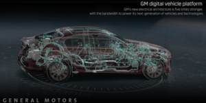 "General Motors designs a new ""brain and nervous system"" for its vehicles"