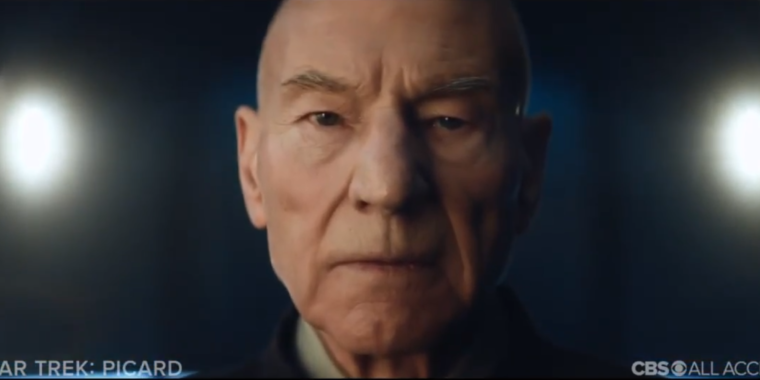 "Now live post-leaks, Star Trek: Picard trailer asks why the ""Admiral"" left Starfleet"
