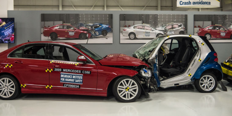 This institute crash-tests cars to make us all safer