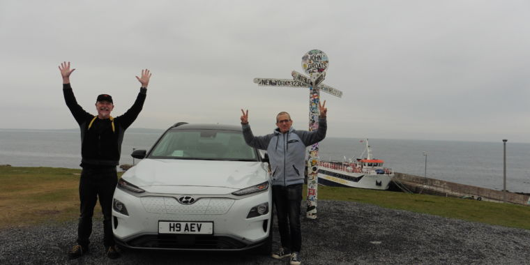 One of my tweets set off a cross-country electric car record attempt