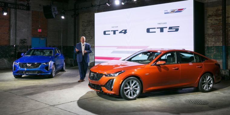 Cadillac revamps its sportiest lineup, adds new CT4-V and CT5-V sedans