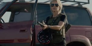 Linda Hamilton is back and buff as ever in Terminator: Dark Fate trailer