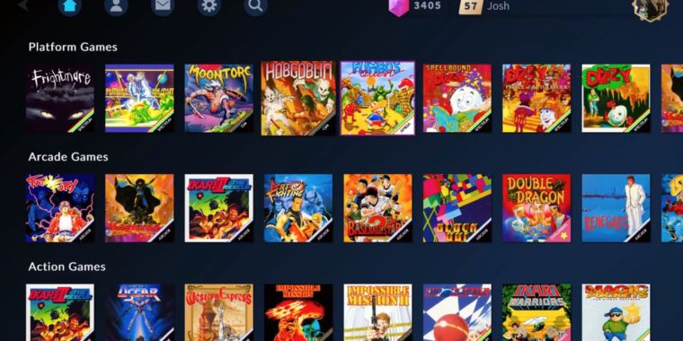 The streaming service that wants to save the retro gaming biz from piracy