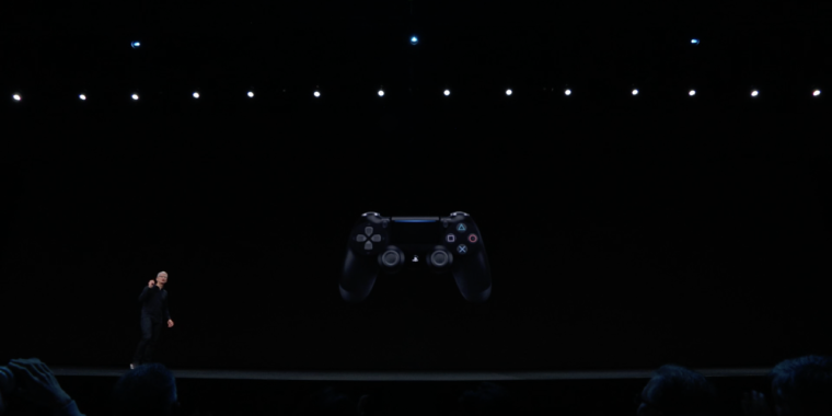 Apple expands tvOS gaming with PS4, Xbox One S controller support