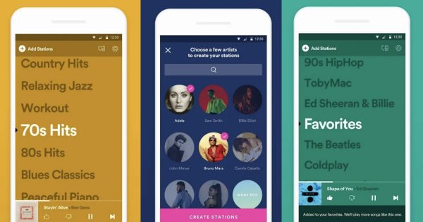 Spotify Stations Allows You to Sit Back and Let Algorithms Decide What You Listen to