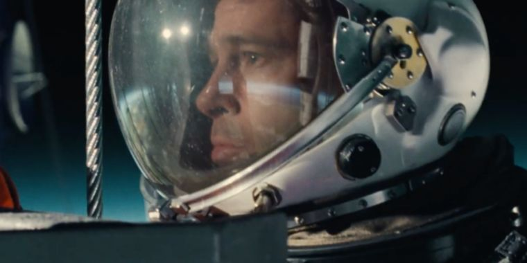Brad Pitt heads into space with mega daddy issues in first Ad Astra trailer