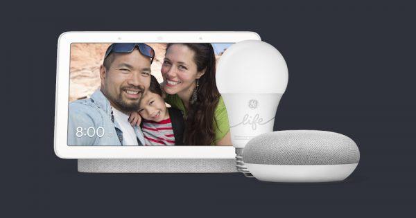 DEAL: Get a Nest Hub, Google Home Mini, GE Smart Bulb for $99 ($85 Off)