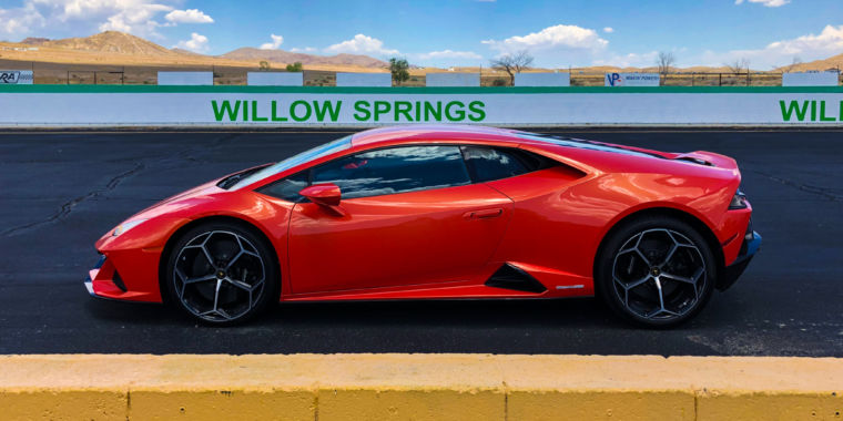 The Lamborghini Huracán Evo is actually proof of intelligent design