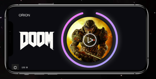 It's <em>Doom</em>, only streamed more efficiently to your phone thanks to Orion.