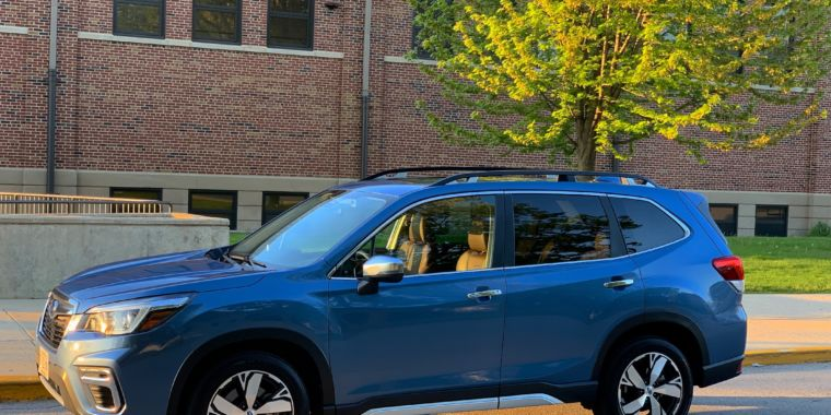 It watches you drive: Subaru Forester review