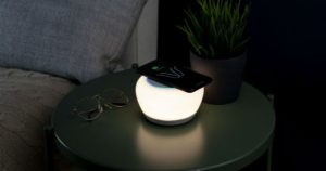 Crowdfund Spotlight: $129 Luna Smart Lamp Offers Fast Wireless Charging, Alexa, and Built-In Bluetooth Speaker