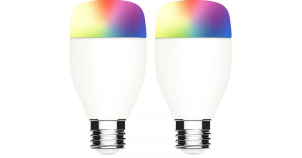 DEAL: Get a 2-Pack of WiFi Full Color Light Bulbs for $14 (Google Assistant Compatible)
