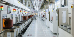 Manufacturing memory means scribing silicon in a sea of sensors