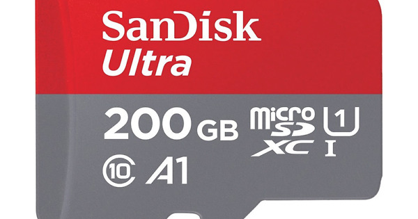 DEAL: SanDisk Ultra 200GB MicroSD Card is Just $24 Today