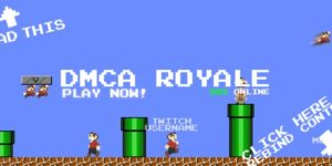 Cease-and-desist transforms Mario Royale into DMCA Royale