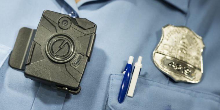 Taser maker says it won't use facial recognition in bodycams