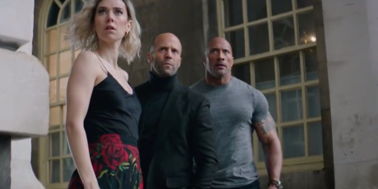 New Hobbs and Shaw trailer stars a McLaren 720S and Hobbs' mom
