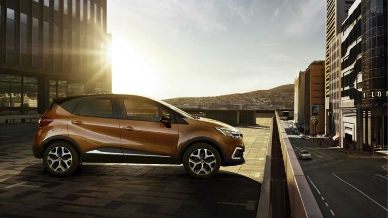 A Renault Captur in more idealistic conditions.
