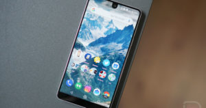 Essential Phone, July Android Update.
