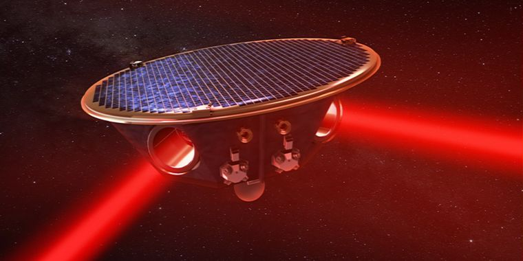 Space-based gravitational-wave detector may detect strange exoplanets
