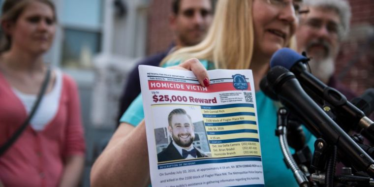 Report: Russian intel started the Seth Rich rumor to cover for DNC hack