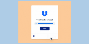 Dropbox Transfer tests direct sharing of files up to 100GB