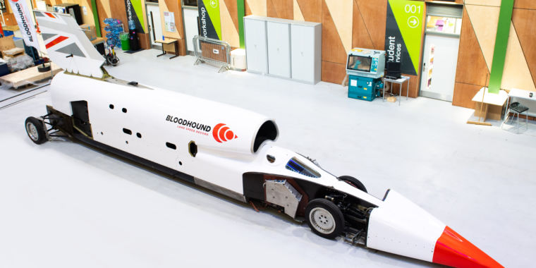 Bloodhound LSR, the 1,000mph car, starts high-speed tests in October