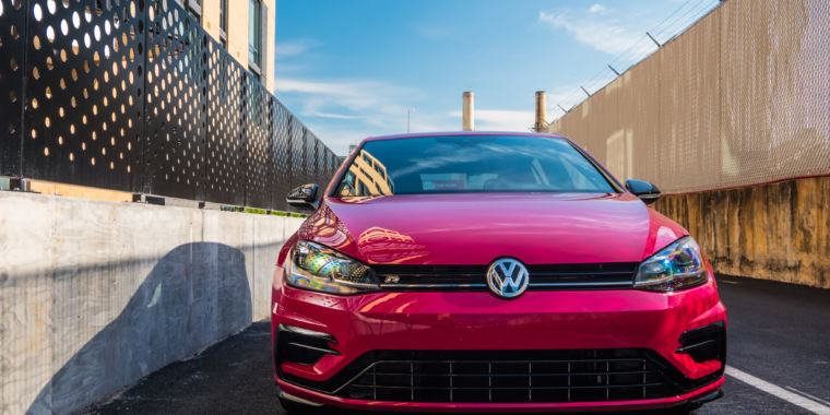 The 2019 Volkswagen Golf R is king of the hot hatches
