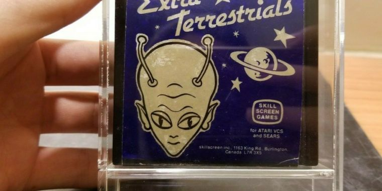 Atari 2600 rarity Extra Terrestrials goes on sale for $90,000