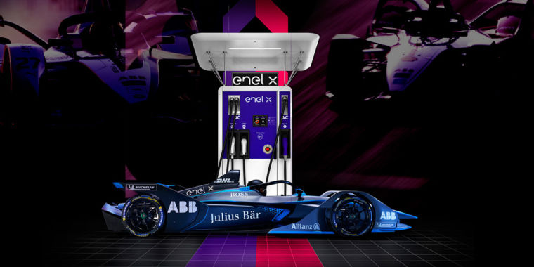 Formula E racing tech will improve the charger for your electric car