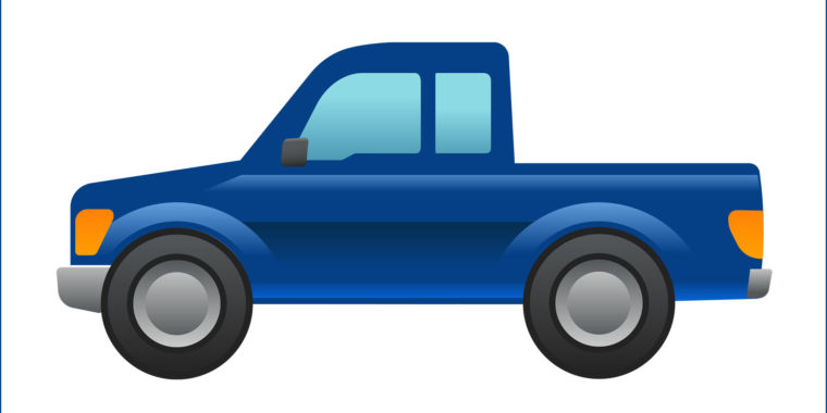Ford designs a pickup truck emoji, petitions Unicode Consortium