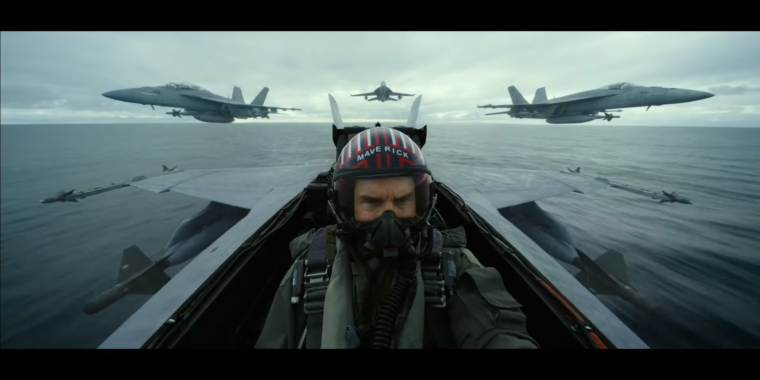 Top Gun: Maverick world premiere trailer: It's not just F-18s this time