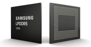 Samsung Readying 12Gb LPDDR5 Mobile DRAM for Galaxy Note 10