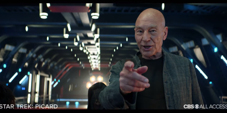 Once again, engage: Picard trailer feels like the next Next Generation